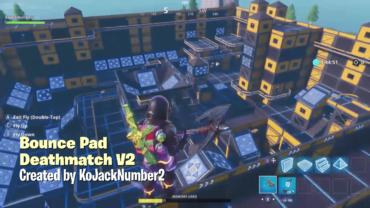 Bounce Pad Deathmatch V2
