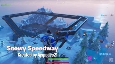 Snowy Speedway