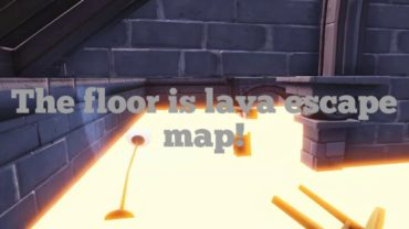 The Floor is Lava Escape!