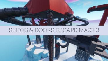 Slides & Doors Escape Maze 3