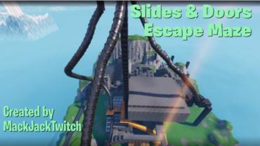 Slides & Doors Escape Maze