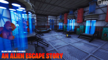 An Alien Escape Story.