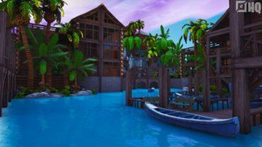 Rustic Resort | The Block Entry