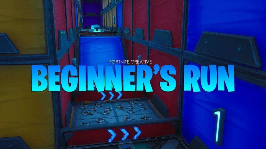 Best Fortnite Beginner Creative Maps Beginner S Run Lazygamerz Fortnite Creative Map Code