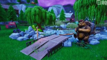 Dead By Fortnite - Freaky Forest