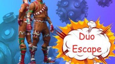 Duo escape challenge