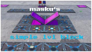 masku's 1v1 block