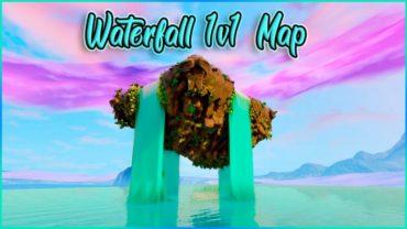 Waterfall 1v1 Map