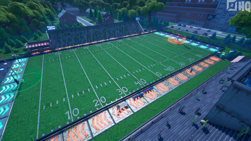 Football Fortnite Downtown Touchdown Chasejackman Fortnite Creative Map Code
