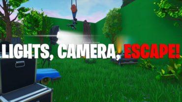 Lights, Camera, Escape!
