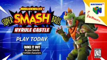 Super Smash Bros // Hyrules Castle