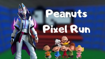 Peanuts Pixel Run