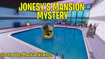 Jonesy's Mansion Mystery
