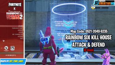 "Rainbow Six ""Kill House"" [ATTACK &  DEFEND] (3 LIVES)"