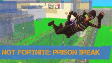 Not Fortnite: Prison break