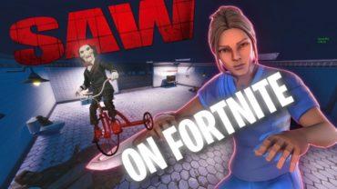 ESCAPE FROM SAW... FORTNITE ESCAPE GAME CREATIVE MAP !