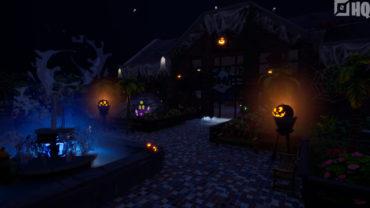 Halloween Hide and seek Mansion