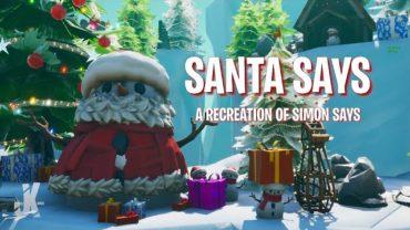 Santa Says: