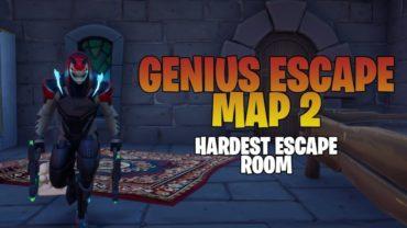 Genius Escape Map 2! Hardest Escape Room