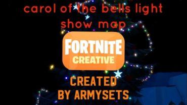 Carol of the Bells, Light Show Map