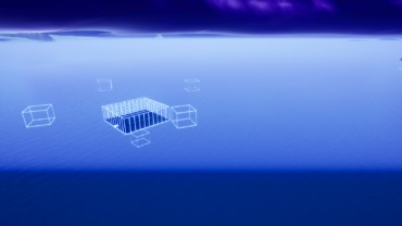 Floating 3D Blueprint box fight