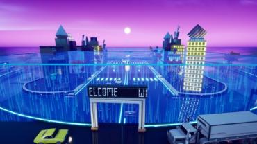 Tiny Futuristic City 1v1's