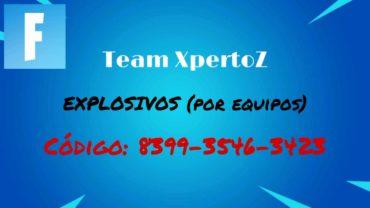 EXPLOSIVOS (por equipos)