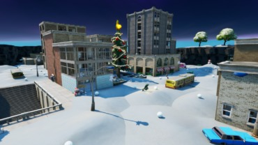 Tilted Christmas – Snowball fight