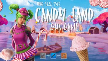 Candy Island GUN GAME
