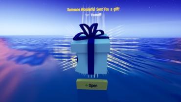 Fortnite gift box