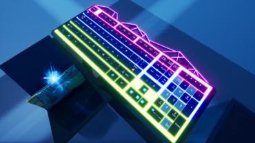 Custom Led Keyboard 1v1's