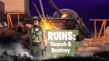 Ruïnes: zoeken en vernietigen