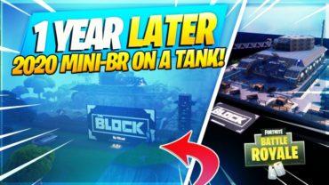 2020 Mini-BR on a Tank!