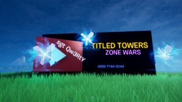 THE Titled Towers Zone Wars