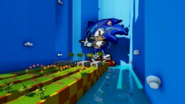 Sonic's speed race