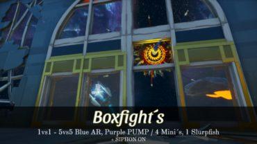 Boxfight outta Space ( 1VS1 – 5VS5 ) + Siphon!