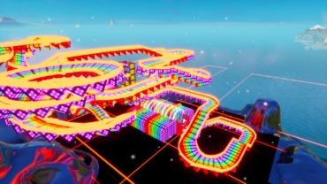 Rainbow Road (8 TEAM VERSION)-16 PLAYERS