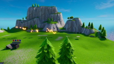 1V1 Build battle Map Chapter 2