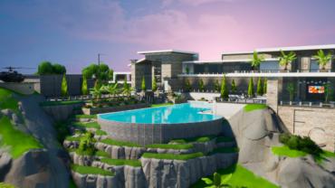 Modern Mansion Hub | Hide & Seek