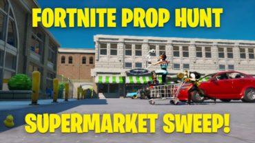 Supermarket Sweep - Prop Hunt