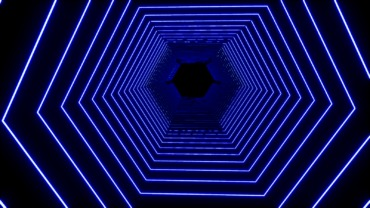 """""""Hexagon Tunnel Flight"""" (Boxfight)"""