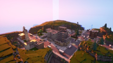 OG TILTED TOWERS EXPLORE MAP