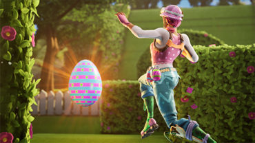 THE EGG RACE (4 PLAYERS)