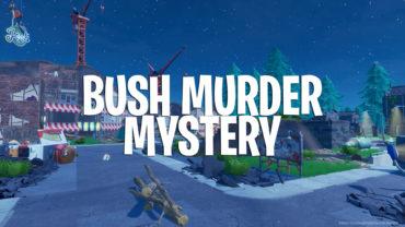 Bush MURDER MYSTERY