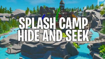 Splash Camp Hide and Seek
