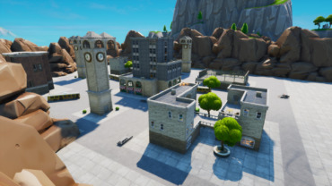 """""""VVVV"""" Tilted towers zone wars"""