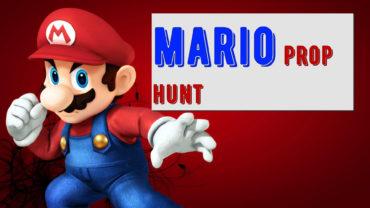 MARIO PROP HUNT: ماريو شرطي وحرامي