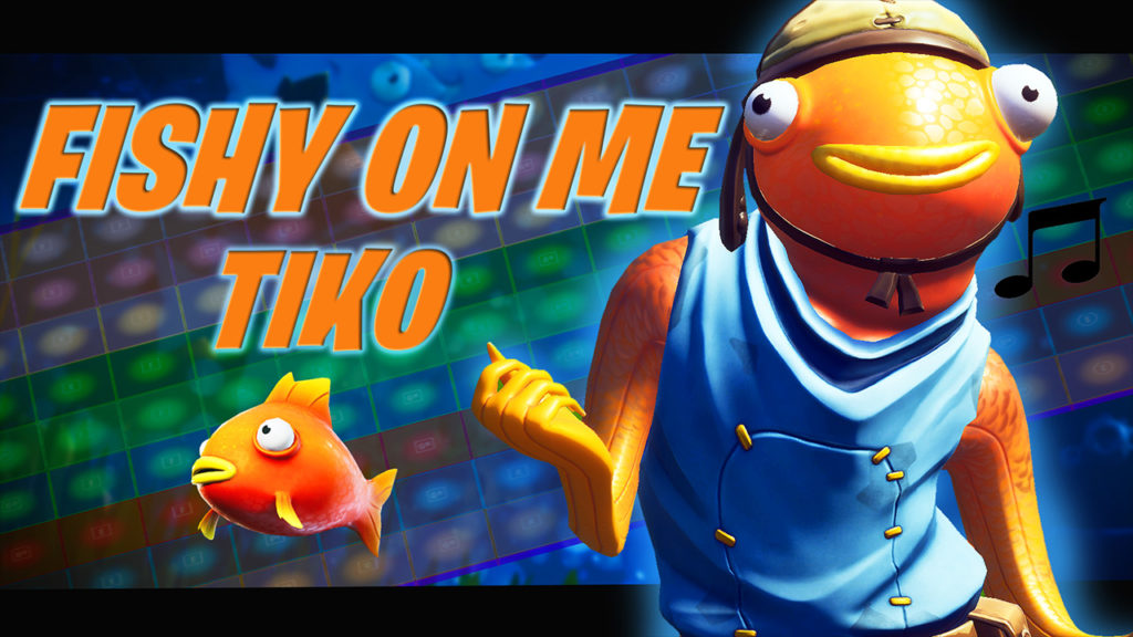 Fishy On Me Fortnite Music Block Blackthornie Fortnite Creative Map Code