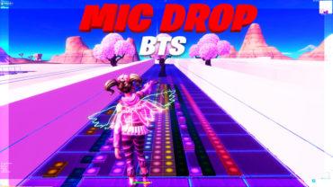 MIC DROP - BTS in Fortnite Music Block