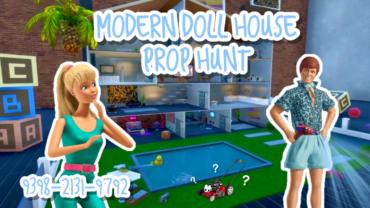 Modern Doll House PROP HUNT